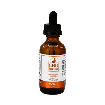 1500mg CBD Fusion 60mL of full-spectrum blend infused with a with a natural Orange extract 0% THC