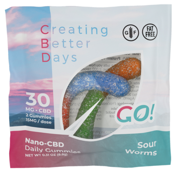 CBD Gummy Worms are Chewy and Tasty! Enjoy Your Favorite Gummy Worms While Getting the Effects of CBD in Every Bite.