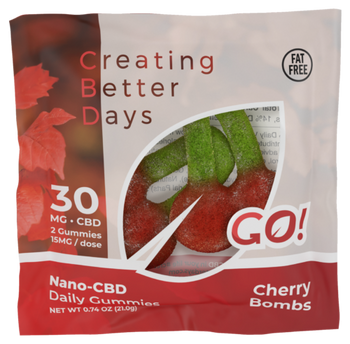 CBD Gummy Cherry Bombs are Chewy and Tasty! Enjoy Your Favorite Cherry flavored Gummies While Getting the Effects of CBD in Every Bite