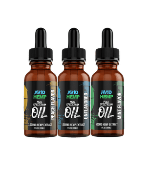 Meticulously handcrafted with care, Avid Hemp's 1,5000mg CBD Oil Tincture is the SUPERIOR choice for one who is looking for the immense variety of health benefits hemp oil offers, in its purest form.