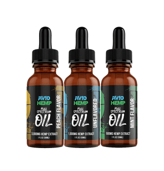 Meticulously handcrafted with care, Avid Hemp's 3,000mg CBD Oil Tincture is the SUPERIOR choice for one who is looking for the immense variety of health benefits hemp oil offers, in its purest form