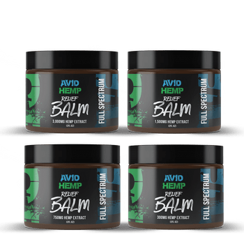 Avid Hemp CBD Relief Balm has a cooling menthol aroma that is ideal for muscle aches and pains. All of our CBD balms are made from a superior-quality formulation of ingredients, including Full Spectrum Hemp Extract, menthol, and lavender for topical use. The Full Spectrum gives a beautiful beige colored tint.