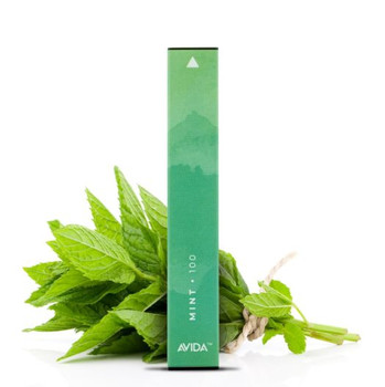 Avida Puff CBD Vape Pen - Mint | Made with our very own AVIDA Core CBD Isolate and our proprietary blend of cool mint blended to perfection by our award-winning flavorist. A home run in our book!  Experience this masterpiece today.