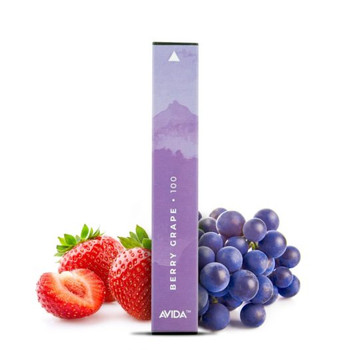 This taste bud activating tropical fruit Avida Puff CBD Vape Pen harnesses the power of ripe strawberries and wild grapes, infused with a potent 100mg dose of CBD in a 1ml pen. Avida Puff is powered by a 280mAh battery and is good for 300 puffs, so you can enjoy dosing your CBD on your daily travels.