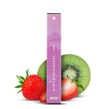 Avida Puff CBD Vape Pen -Chilled Kiwi Strawberry This lusciously sweet tropical treat combines the taste of islands with ripe Charlie Strawberries and crisp tart Allison Kiwis for a river of sweet and refreshing taste. Infused with a potent 100mg dose of CBD in a 1ml pen. Avida Puff is powered by a 280mAh battery and is good for 300 puffs, so you can enjoy dosing your CBD on your daily travels.