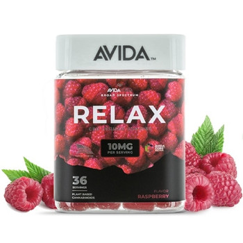 Avida - Raspberry CBD Gummies Adding CBD to your daily routine has never been tastier. Each container is packed with 36 juicy Red Boyne Raspberries are bursting with flavor. Indulge in a sweet blend of farm-grown ripened raspberries with notes of sugar cane syrup.