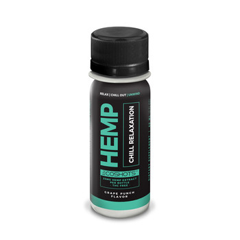 CBD Drip Ecoshots Chill Relaxation is a hemp extract that is designed to help you relax and wind down. This drink contains 25MG+ of Full Spectrum CBD-Rich whole plant cannabinoid products.