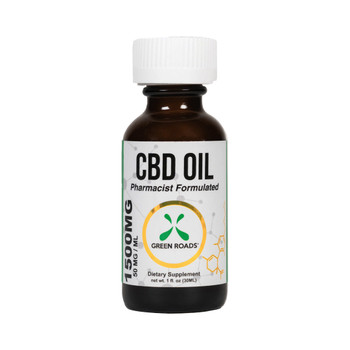 Green Roads 1500 mg CBD Oil Medical Tincture is a large quantity CBD oil. This product contains a longer-lasting supply of CBD oil than our smaller products.