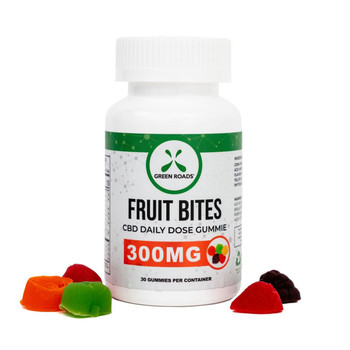 Fruit Bites are the most delicious way to get your daily dose of CBD. Each fruit-shaped gummy is packed with 10 mg of high-quality CBD formulated by professional pharmacists.