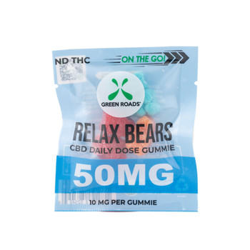 Our on-the-go relax gummies are the most delicious and convenient way to get your daily dose of CBD. These sweet CBD gummy bears produce a calming effect that can relieve anxiety in stressful situations at work or school. Our CBD gummies can also provide relief after the gym, a long night out, and any other situation in between.