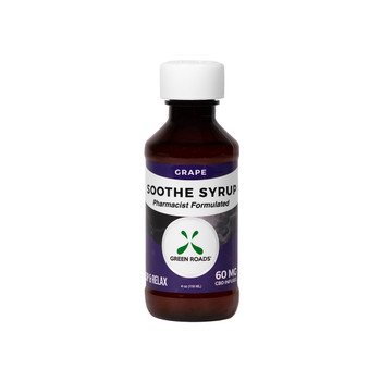 Each serving of CBD Soothe Syrup delivers a fruity shot of grape relaxation thanks to cannabidiol infused with melatonin, the body's natural sleep-inducing hormone.