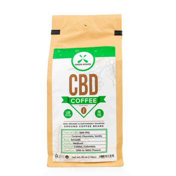 CBD-infused coffee has a rich, invigorating taste that is perfect for early mornings and late nights. Our 1 lb bag is the ideal choice for the ultimate coffee aficionado or those looking to share a warm cup of wellness with family and friends.