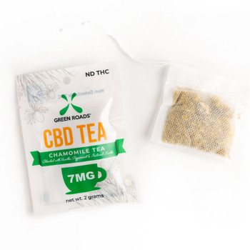 Green Roads CBD oil tea combines all the soothing properties of CBD and chamomile to create a therapeutic infusion rich in flavor and aroma. Our single day packs of CBD-infused tea have been formulated to help calm your body and mind so you can get through the most demanding parts of your day.