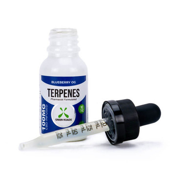 Terpenes are fundamental building blocks of nature. Every living thing produces terpenes to perform diverse biological functions. By infusing our all-natural CBD with terpenes also found in the hemp plant, we take advantage of the entourage effect, creating synergy between plant and human. Our Blueberry OG Terpenes formula includes the terpenes found in the Blueberry OG strain of cannabis and pure CBD.