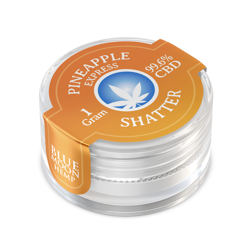 99.6% purity. That means when you use Blue Moon Shatter, you are getting the very best and purest shatter on the market.