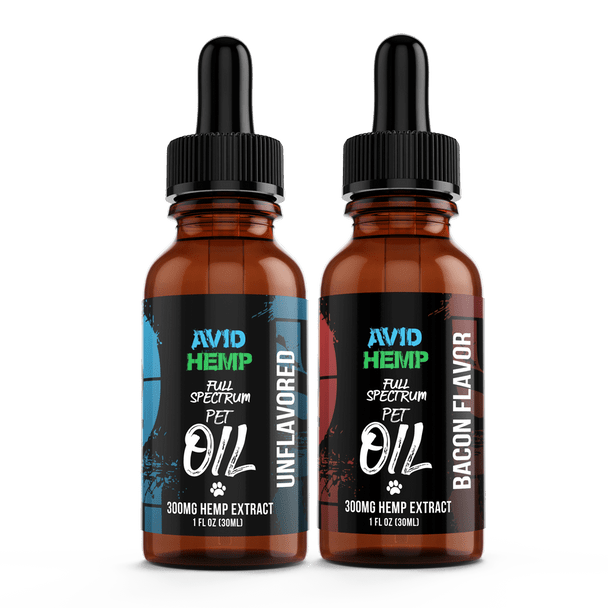 Avid Hemp's Pet Oil Tincture is the premium choice for anyone looking to supply their furry friend with the immense variety of health benefits that our CBD Pet oil offers. Made with fractionated coconut oil (MCT) and Full Spectrum Hemp Extract.