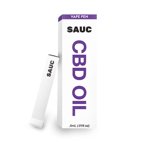 SAUC single use vape device (use and toss) is the easiest way to enjoy CBD, simply open the box and inhale! Each 'puff' contains hemp cannabinoid extract that is carefully extracted from hemp grown on the finest american soil. With a broad spectrum of delicious organic terpenes