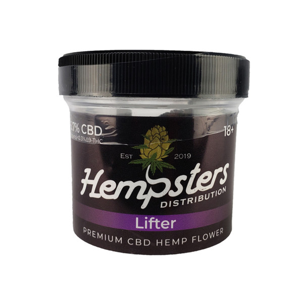 Lifter is a CBD hemp cultivar created by crossing Suver Haze and Early Resin Bud. Buds have a funky cheese aroma with a hint of fuel, making Lifter a welcomed newcomer in the hemp market.