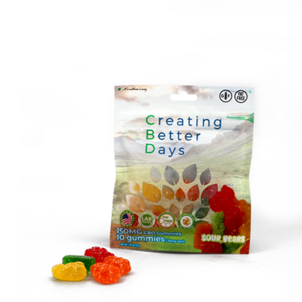Nano-CBD Sour Gummy Bears.  Completely fat-free, gluten-free, and made with nano-amplified CBD. Now you can enjoy your favorite gummy while getting the effects of CBD in every bite. Safe, gentle, and effective, this formulation provides naturally occurring antioxidants to support a healthy endocannabinoid system.