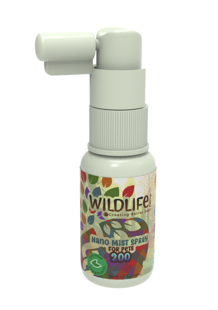 Creating Better Days - Nano-CBD Pet Mist Spray – 200mg Convenient to spray on food or for direct application, nano-CBD pet spray is one of the many options we have to offer our loving companions. This formula is 100% THC-free and non-psychoactive