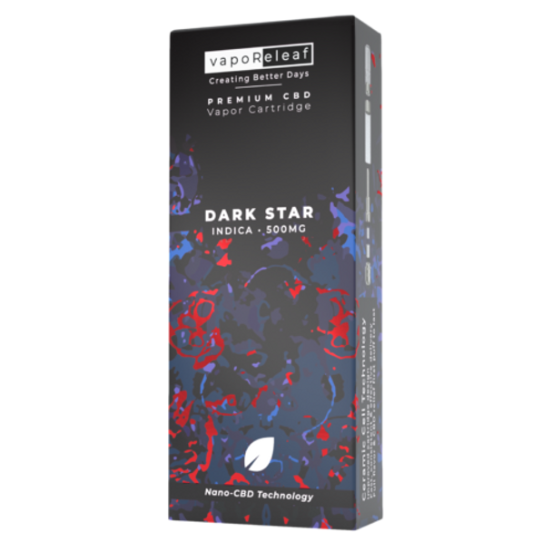 Nano-CBD Full Spectrum Cartridge - Dark Star 500mg. Dark Star's terpene flavors are as spacey as its name suggests: a deep, calming, earthy notes that are accompanied by a heavy cerebral calm. Creating Better Days full spectrum CBD oil provides the entourage effect.