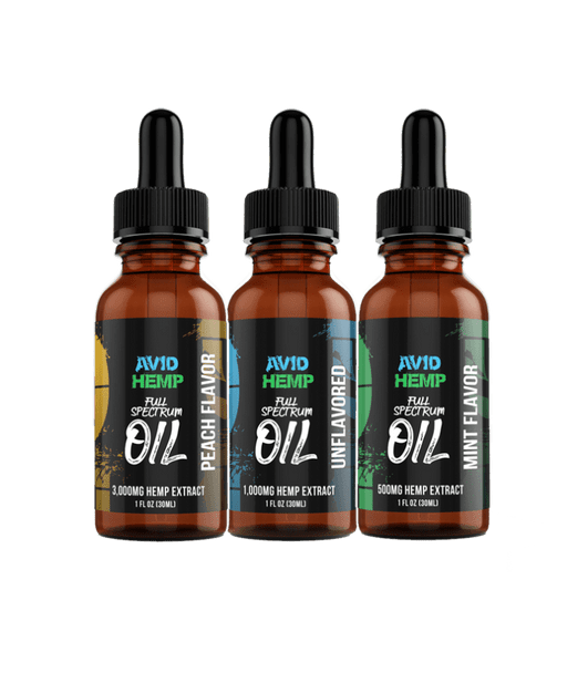 Meticulously handcrafted with care, Avid Hemp's 1,000mg CBD Oil Tincture is the Superior choice for one who is looking for the immense variety of health benefits hemp oil offers, in its purest form.