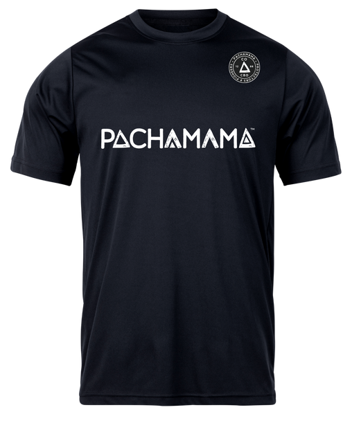 Pachamama CBD | T-Shirt Pioneers and Protectors - Dry Fit Tee Be a pioneer with our Atheltic Tee. Synthetic vapor wicking dry fit Tee designed for the outdoor