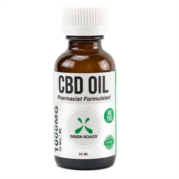 Green Roads 1000 mg CBD Oil Medical Tincture is a large quantity CBD oil. This product contains a longer-lasting supply of CBD oil than our smaller products.
