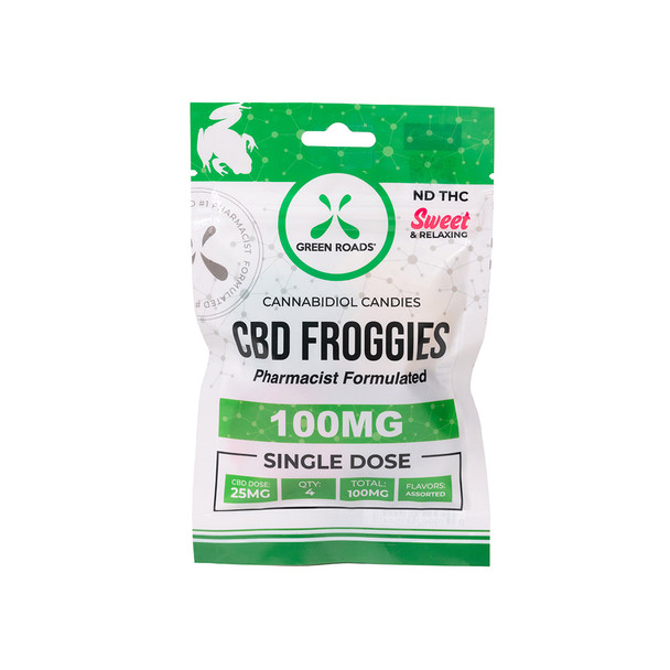 The CBD Froggies are pharmacist-formulated gummie snacks . The ideal on-the-go 25 mg CBD snack for busy professionals and weekend warriors alike.