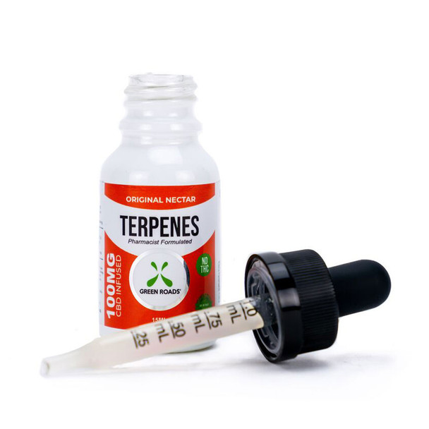 erpenes are fundamental building blocks of nature. Every living thing produces terpenes to perform diverse biological functions. By infusing our all-natural CBD with terpenes also found in the hemp plant, we take advantage of the entourage effect, creating synergy between plant and human. The Original Nectar Terpenes formula includes the terpenes found in the Original Nectar strain of cannabis.