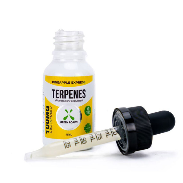 Terpenes are fundamental building blocks of nature. Every living thing produces terpenes to perform diverse biological functions. By infusing our all-natural CBD with terpenes also found in the hemp plant, we take advantage of the entourage effect, creating synergy between plant and human. The Pineapple Express Terpenes formula includes the terpenes found in the Pineapple Express strain of cannabis.