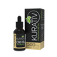 Kurativ CBD Oil Full Spectrum Unflavored 500mg, 1500mg, 3000mg, 6000mg, 12000mg. Kurativ full spectrum CBD Oil contains less than 0.3% THC.  Oils contain terpenes and are blended with Organic MCT due to it's high absorbability rate.  This means that your body absorbs more CBD than with other carrier oils.  Unflavored, with no unpleasant tastes.