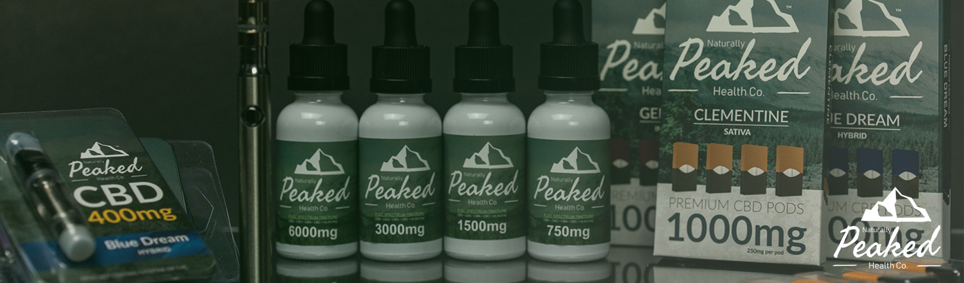Naturally Peaked CBD Products on CBDResellers.com