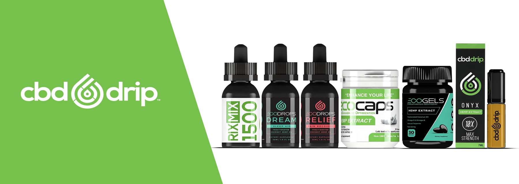 CBD Drip | ECO Drip & ECO Sciences Quality CBD Brand