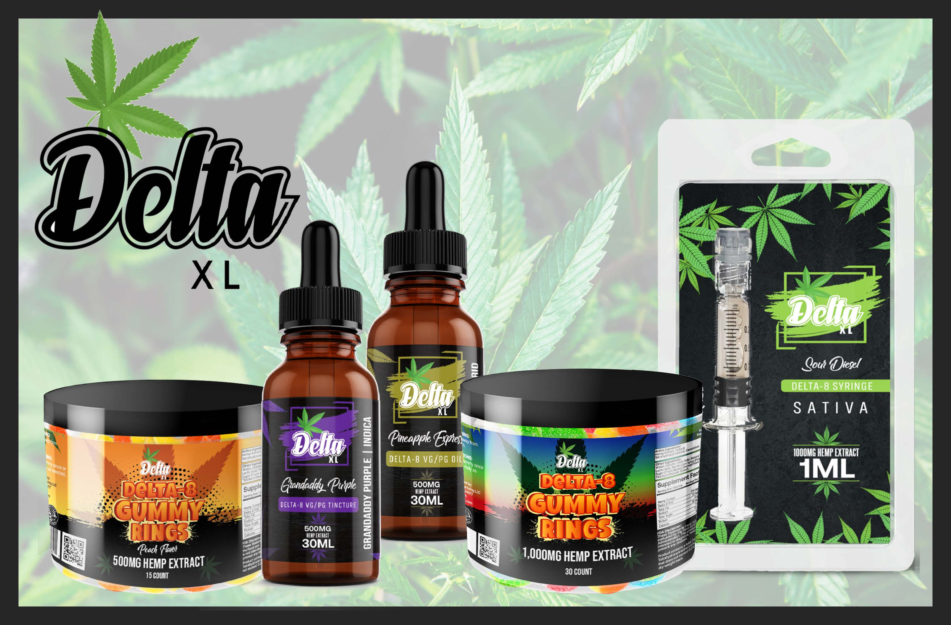 DeltaXL Delta 8 THC | Highest Quality Delta8 Distillate is utilized in every product | CBDResellers.com is the official Retailer & Distributor  for This Top 5 Rated D8 Products | Satisfaction Guaranteed