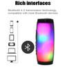 TG157 Wireless Bluetooth Speaker Portable LED Pulse light flashing waterproof speaker