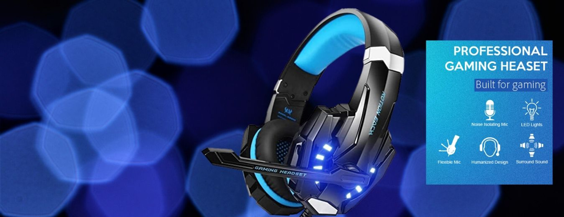 KOTION EACH G9000 Stereo Gaming Headset
