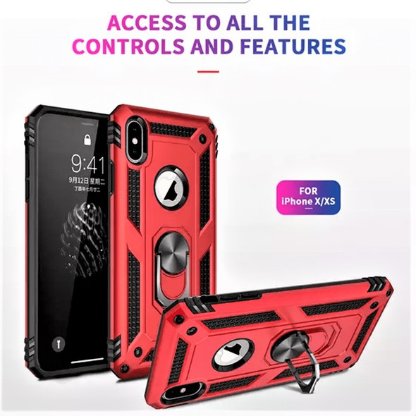 IOS /Android Hybrid Shockproof Phone Case with Kickstand Multi Colors