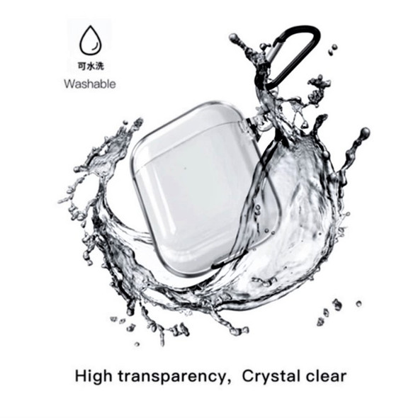 Electroplate Clear Airpods Pro Protective Transparent Case Fits Blackpods, Airs i500 Pro and Air i500