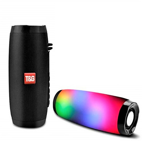 Wireless Bluetooth Pulse Speaker Portable LED Light Flashing Waterproof Speaker