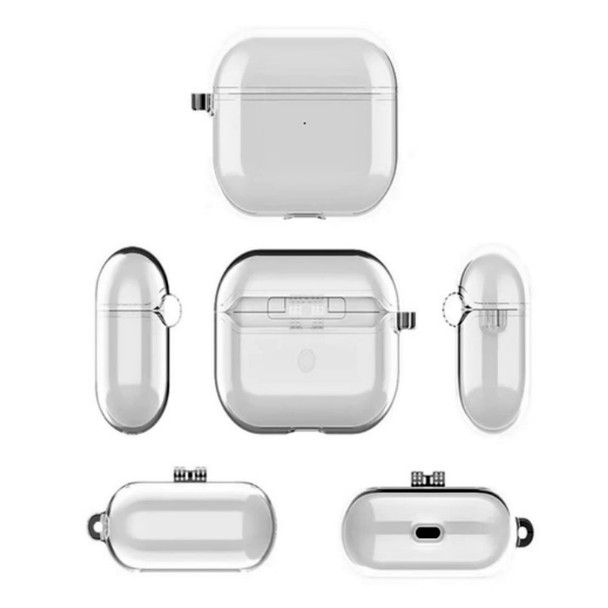 Electroplate Clear Pro Earbuds Protective Transparent Case