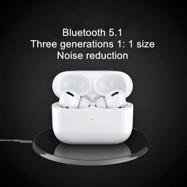 Earbuds Pro TWS Bluetooth with Wireless Charging (Used)