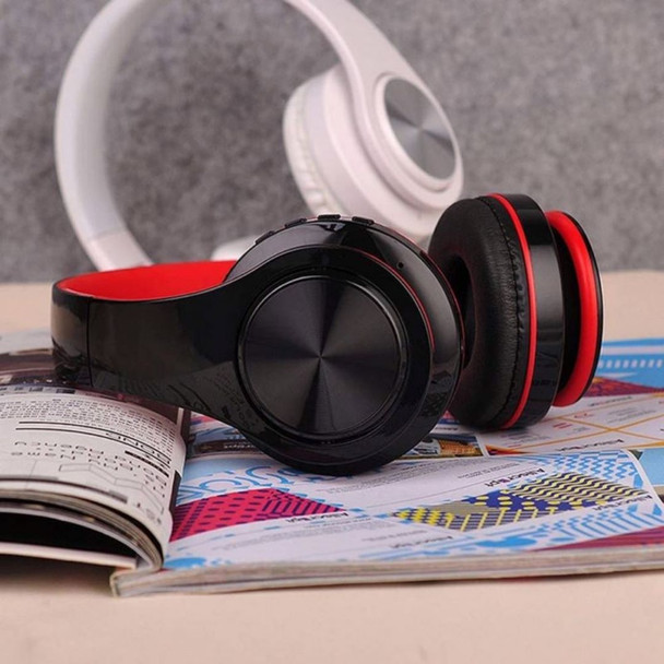 On-Ear Active Noise Cancelling Wireless Bluetooth Foldable Stereo Headphones IPX5 Waterproof Stereo Earphones in-Ear Built-in Mic Headset