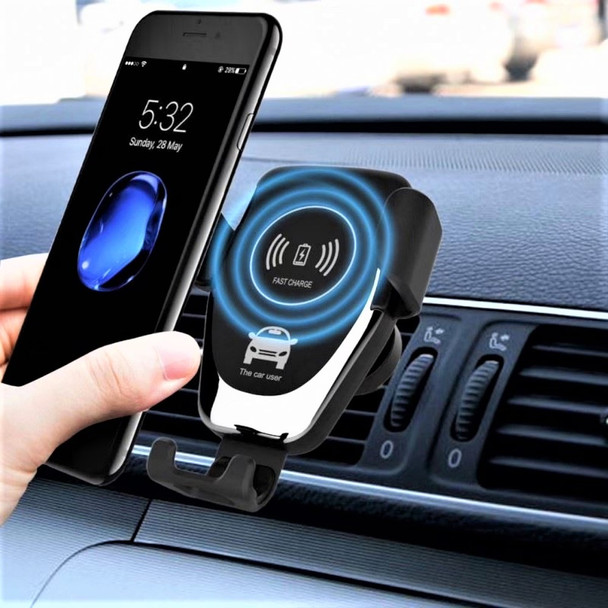 Qi Wireless Car Charger Phone Holder