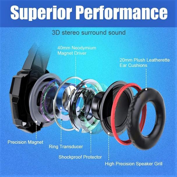Python Fly G9000 Pro Headphone 7.1 Surround Sound Gaming Headphones