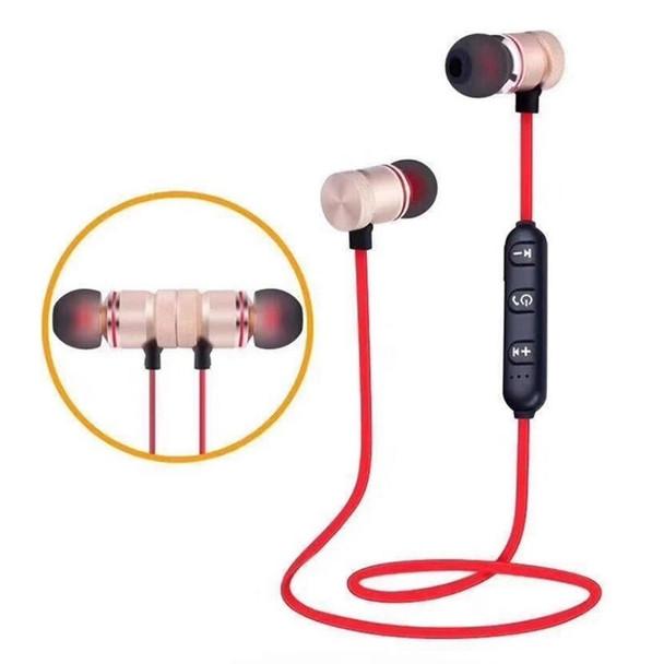 XT6 Around The Neck Sport In-Ear Bluetooth Headphones