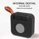 T5 Cloth Wireless Speaker with FM Radio and TF Card Play Portable Mini Bluetooth Speaker