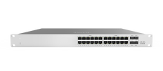 Meraki MS120-24P 1G L2 Cloud Managed 24x GigE 370W PoE/PoE+ Switch