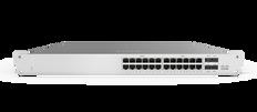 Meraki MS120-24P 1G L2 Cloud Managed 24x GigE 370W PoE/PoE+ Switch