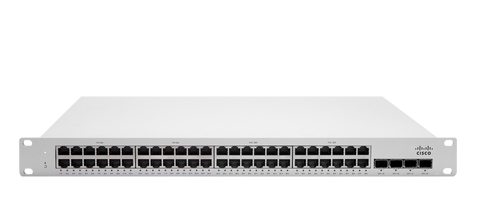 Meraki MS225-48FP L2 Stackable Cloud Managed 48x GigE 740W PoE/PoE+ Switch